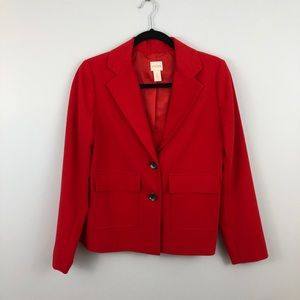Chico's | NWOT Red Pocketed Jacket Blazer